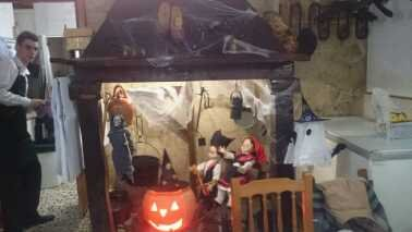 A Lareira Decoración hallowen